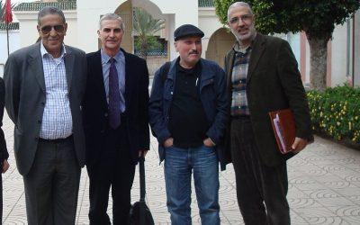 Abdellatif Limami y Mohamed Lahchiri (Casablanca, 2015)
