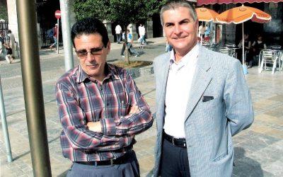 Ahmed Mgara y José Sarria (Tetuán, 2010)