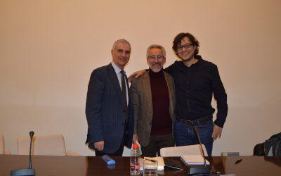 José Sarria, Sergio Barce y Said El Kadaoui (Málaga, 2018)