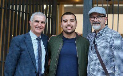 José Sarria, Zuer El Bakkali y Daniel Moscugat (Málaga, 2018)