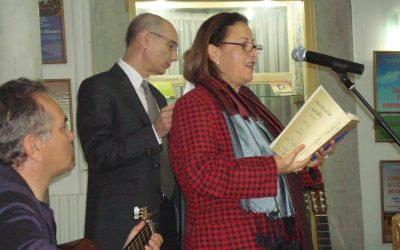Manuel Gahete y Meimouna Hached Khabou (Túnez, 2011)