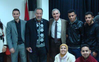 Mohamed Laabi y Abdel Najmi (Tánger, 2015)