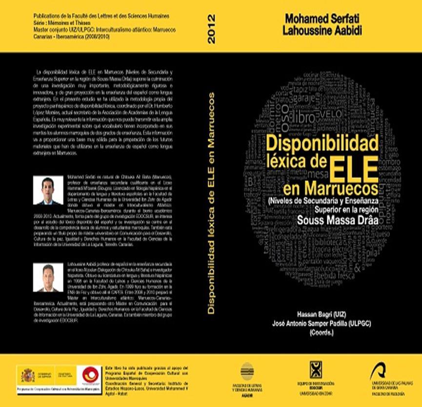 Mohamed Serfati - Disponibilidad Léxica ELE
