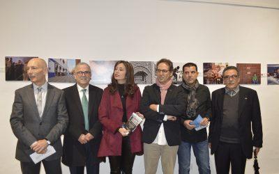 Inauguración exposición La Mirada Líquida, durante el Congreso La Frontera Líquida (Córdoba, noviembre, 2019).